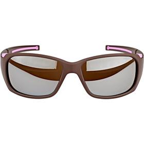 Julbo Monterosa Spectron 4 Lunettes de soleil Femme, aubergine/pink-brown flash silver